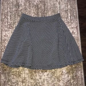 Francesca's Polka Dot Skirt